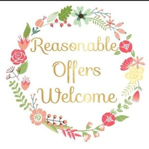 Other - Reasonable offers welcome!